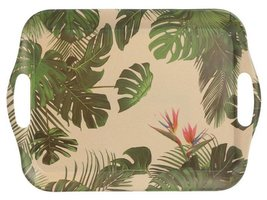 Dienblad bamboevezel Tropic, milieuvriendelijk, H 26.5cm B 36.5cm D 1.5cm