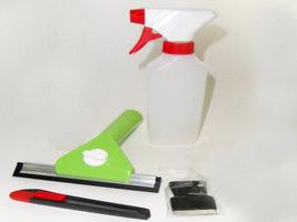 Plaatsing: Mini Kit Standard (cutter, krabber, mini wisser & verstuiver)