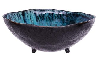 Object Babylon Bowl 28x11.5cm Pacific Blue