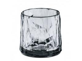 Onbreekbaar clubglas CLUB N° 2, transparant grijs, 1 stuk, 25cl Koziol