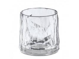 Onbreekbaar clubglas CLUB N°2, helder, 1 stuk, 25cl Koziol