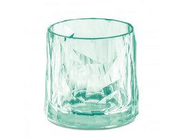 Onbreekbaar clubglas CLUB N°2, transparant jade, 1 stuk, 25cl Koziol