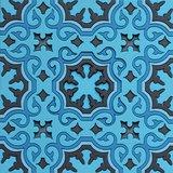 Set 2 onderzetters Coaster BLUE'S 1, 9x9cm, 2pcs_