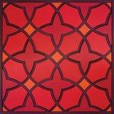 Set 1 onderzetter Trivet NAJMA RED, 18x18cm_