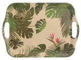 Dienblad bamboevezel Tropic, milieuvriendelijk, H 26.5cm B 36.5cm D 1.5cm _