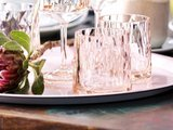 Onbreekbaar clubglas CLUB N°2, transparant roze, 1 stuk, 25cl Koziol_