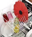 Couvercle en silicone - Modèle Coquelicot Poppy rouge - Charles Viancin 33cm_