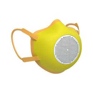 Mondmasker Guzzini met filter ECO MASK Kleur GEEL