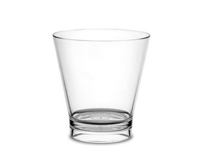 Onbreekbaar cocktailglas, caipirinhas, helder, transparant, 1 stuk, 33cl